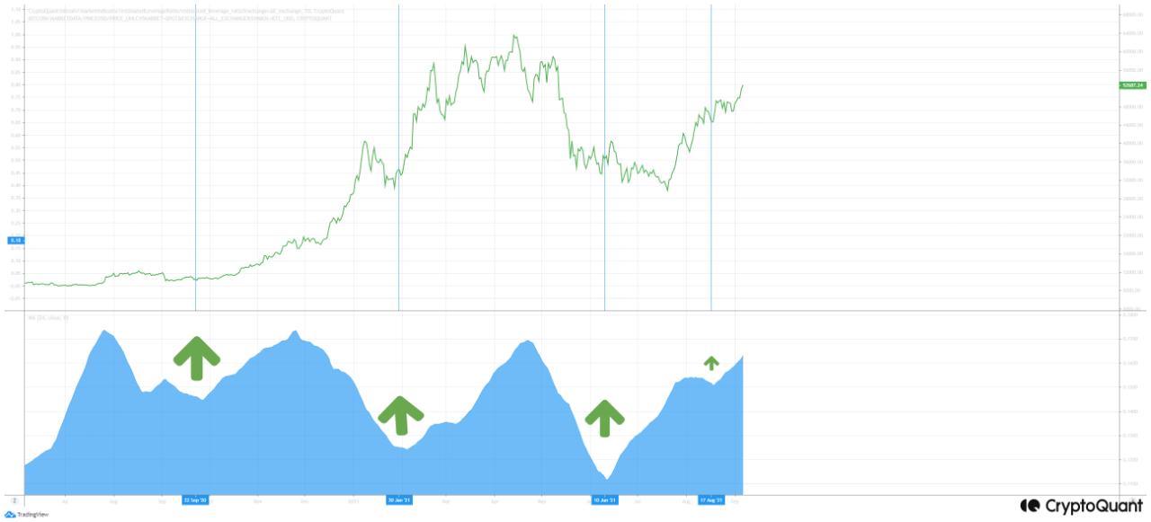 Relación de apalancamiento de Bitcoin